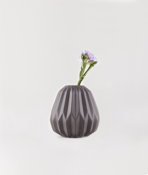 BLOOMINGVILLE Vase porcelain black