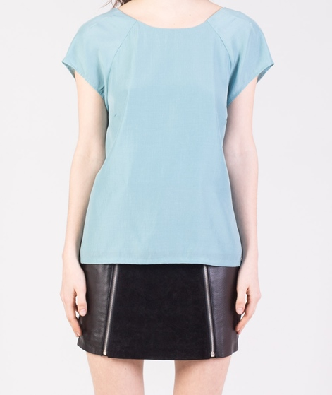 POP CPH Viscose Raglan Bluse duck teal