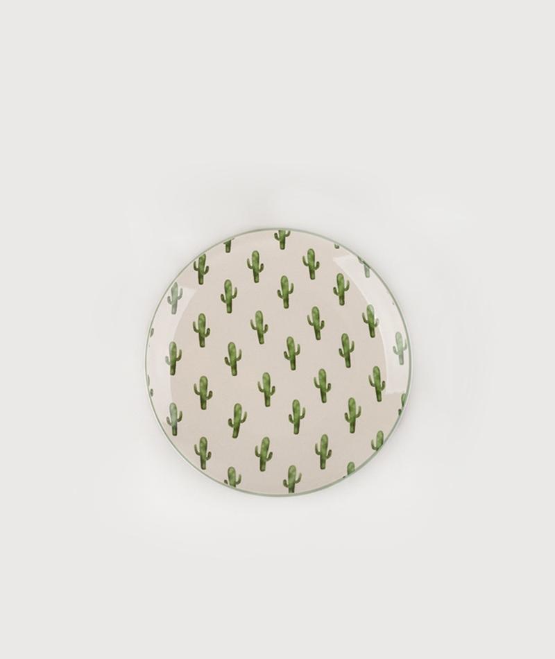 BLOOMINGVILLE Jade Plate green