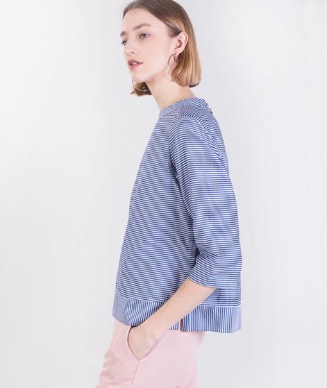 MADS NORGAARD Soft Stripe Slammy Bluse