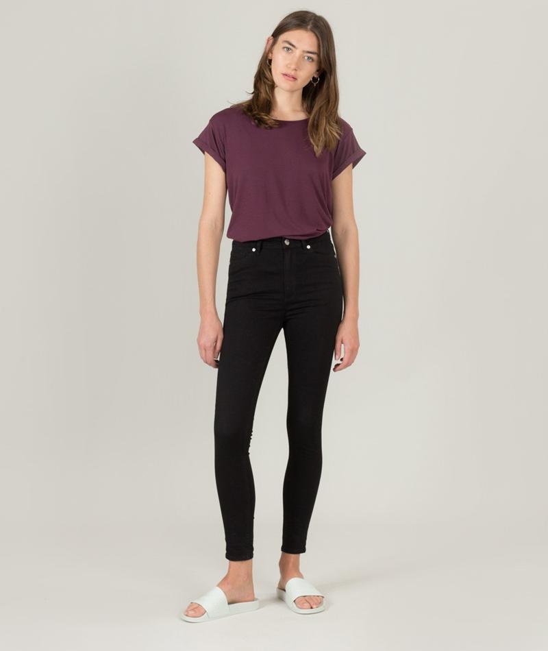 CHEAP MONDAY High Snap Jeans black coal