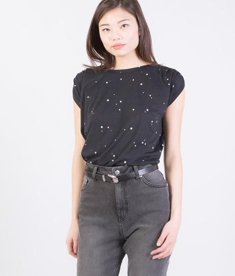 SESSUN Sixto Bluse black dots