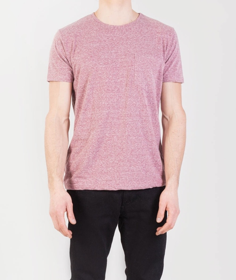 REVOLUTION Round Neck Tee with Pocket