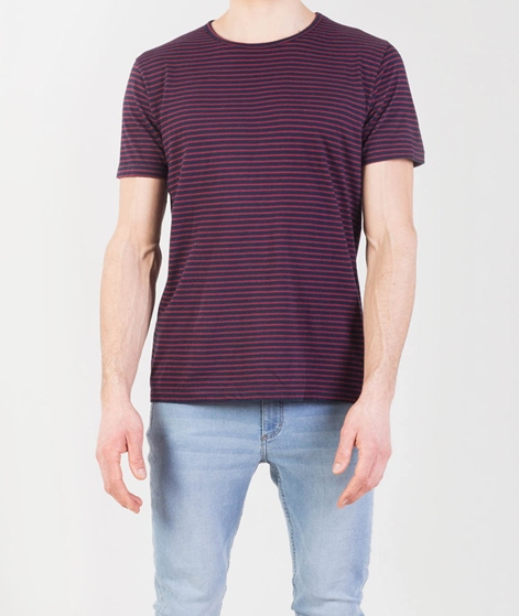 REVOLUTION Tee Striped T-Shirt red