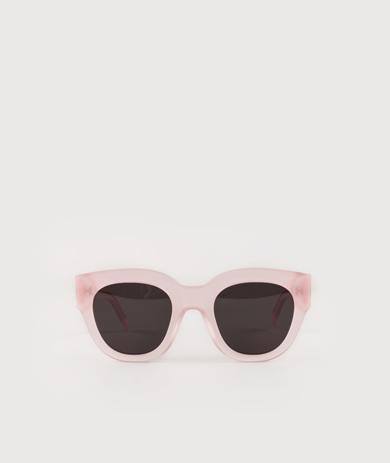 MONOKEL Cleo Sonnenbrille clear pink