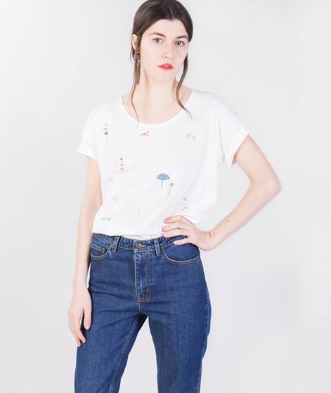 DES PETITS HAUTS Zoe T-Shirt blanc