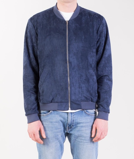 LEGENDS Flores Suede Jacke navy