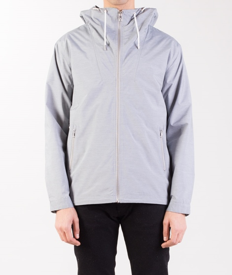 MINIMUM Ankowa Jacke light grey melange