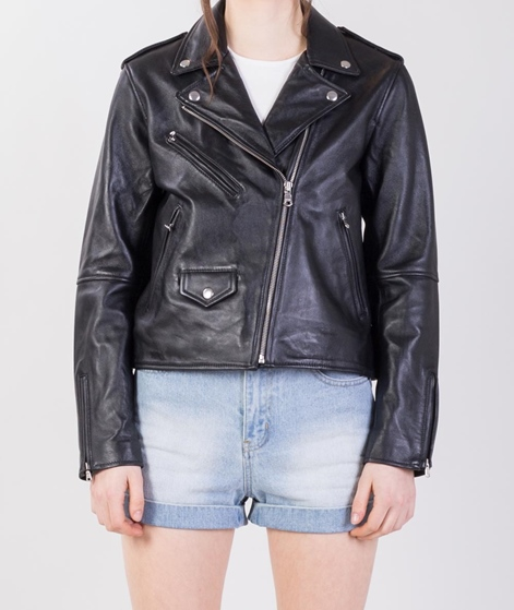 LEVIS Relaxed Moto Jacke black