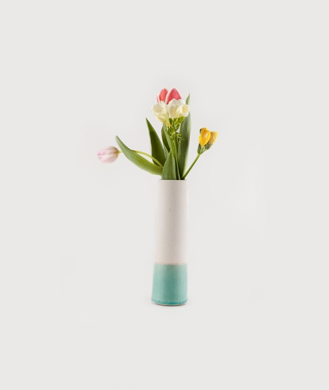 HOUSE DOCTOR Tube Vase mint green