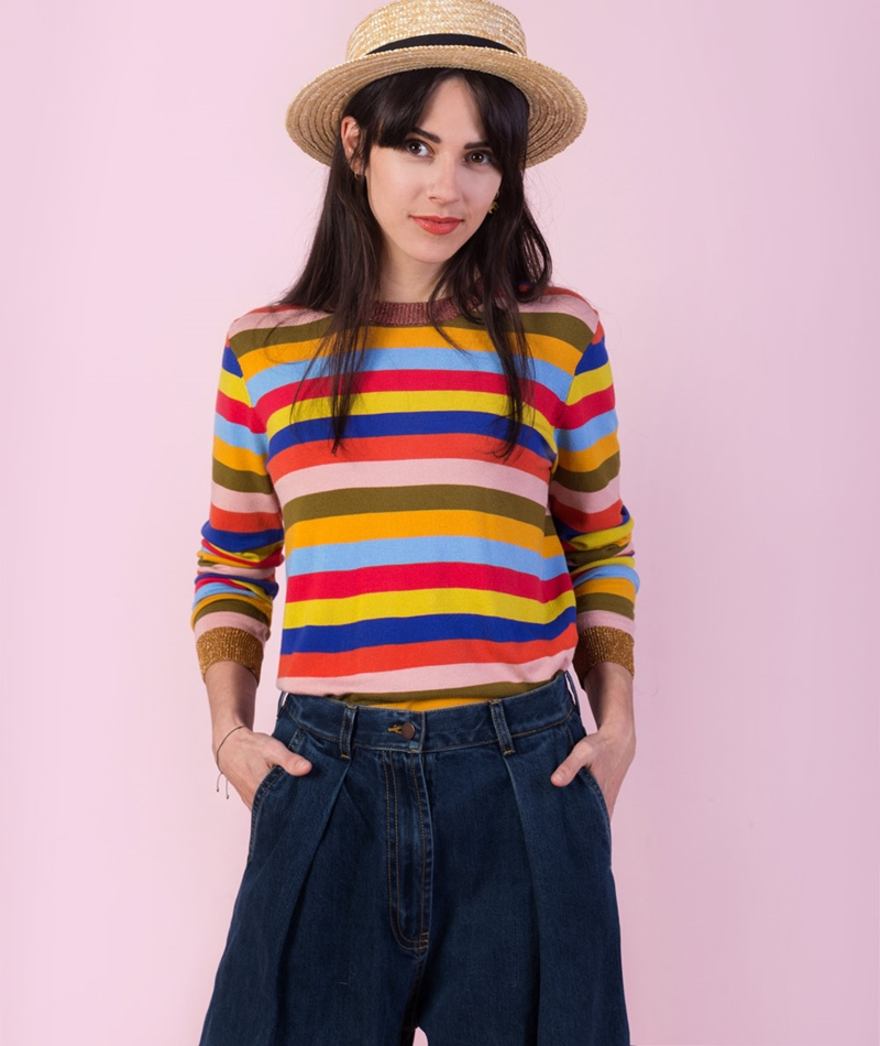 KDG x Jane Wayne Rainbow Pullover