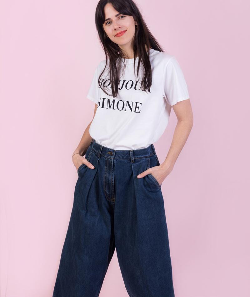 KDG x Jane Wayne T-Shirt bonjour