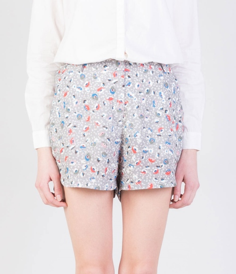 LIBERTINE LIBERTINE Burn Shorts flowers