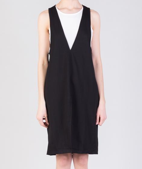 MINKPINK Plunge Layered Mini Kleid black
