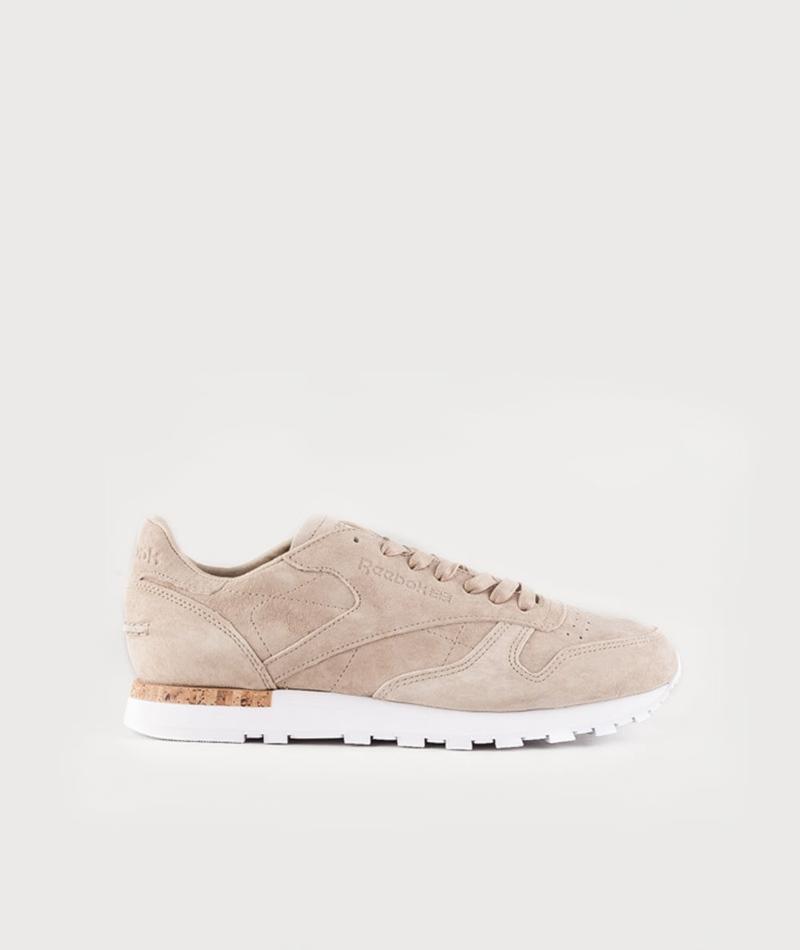 REEBOK CL Leather LST Sneaker oatmeal