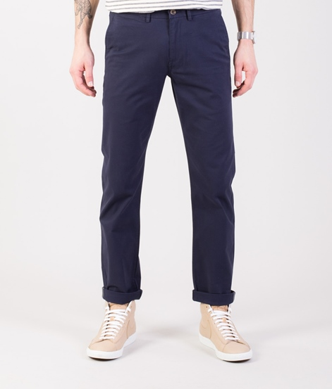 BEN SHERMAN Slim Stretch Chino navy
