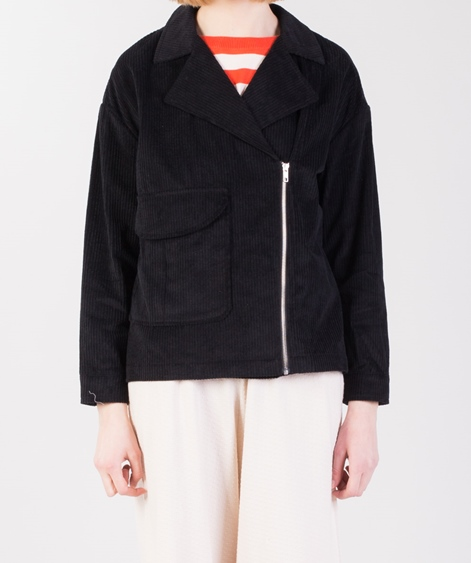 SELFHOOD Cotton Jacke black