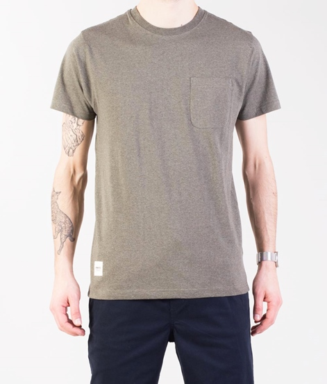 WEMOTO Blake T-Shirt olive melange