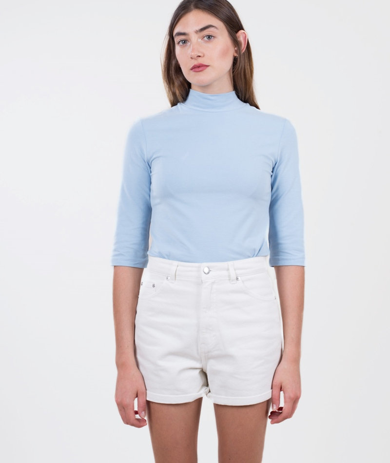 CHEAP MONDAY Donna Shorts white