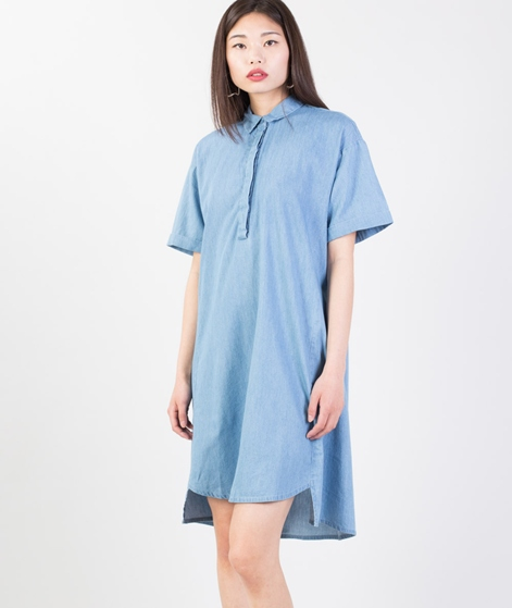 NATIVE YOUTH Vent Shirt Kleid mid wash