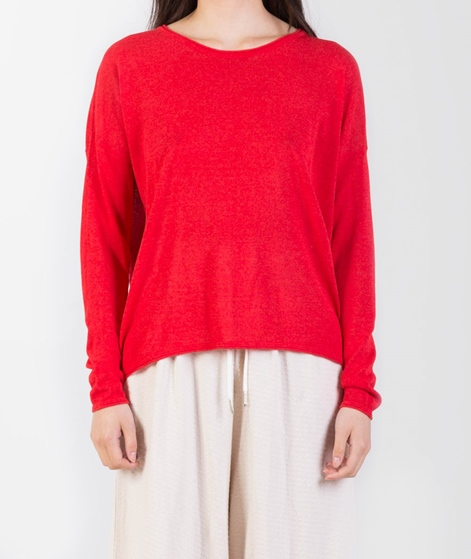 SAMSOE SAMSOE Kally O-Neck Pullover red