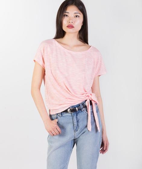 VILA Vibrittas Knot T-Shirt persimmon