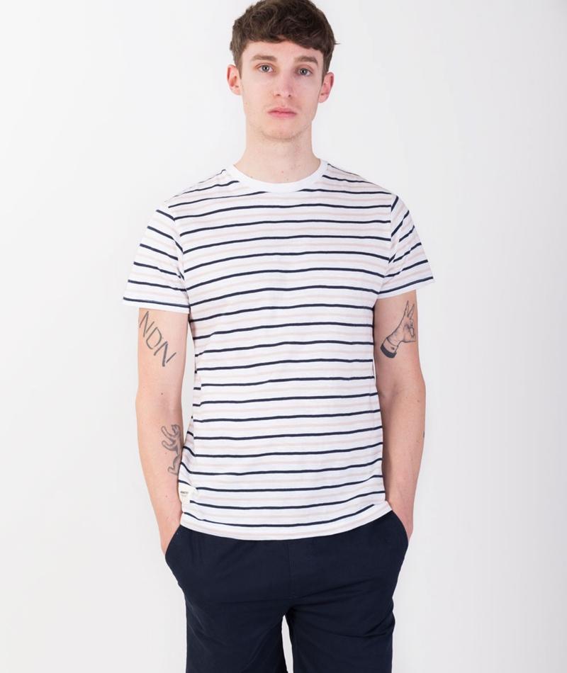 WEMOTO CopeT-Shirt stripes