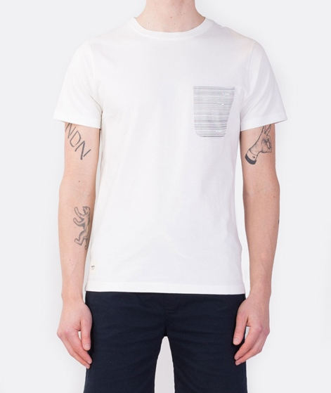 WEMOTO Dara Pocket T-Shirt off white