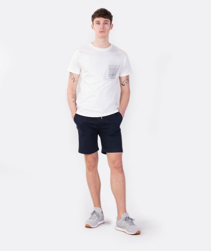WEMOTO Dara Pocket T-Shirt off white