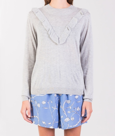 SECOND FEMALE Steina Knit Pullover grey