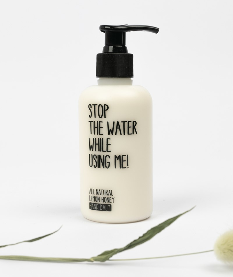 STOP THE WATER Handcreme Lemon Honey