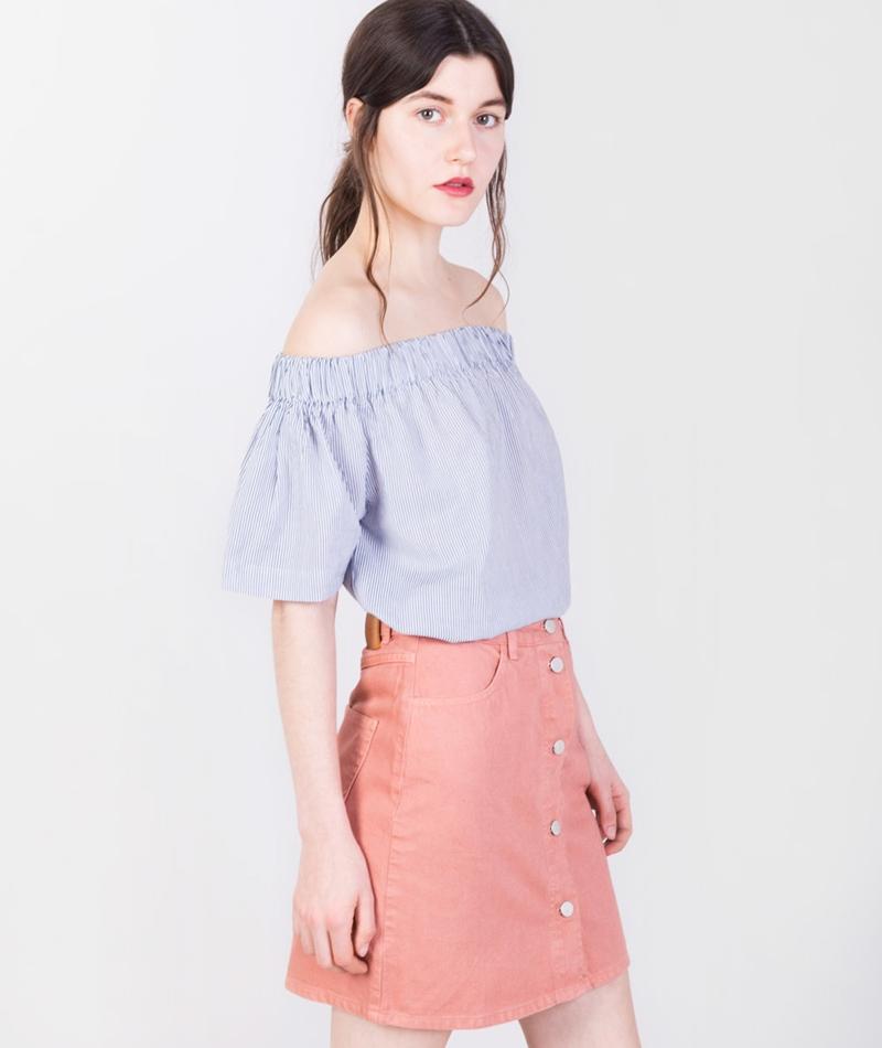 kauf dich gl cklich anea blouse striped 42478. Black Bedroom Furniture Sets. Home Design Ideas