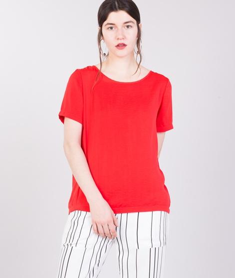 VILA Vimelli S/S T-Shirt flame scarlett