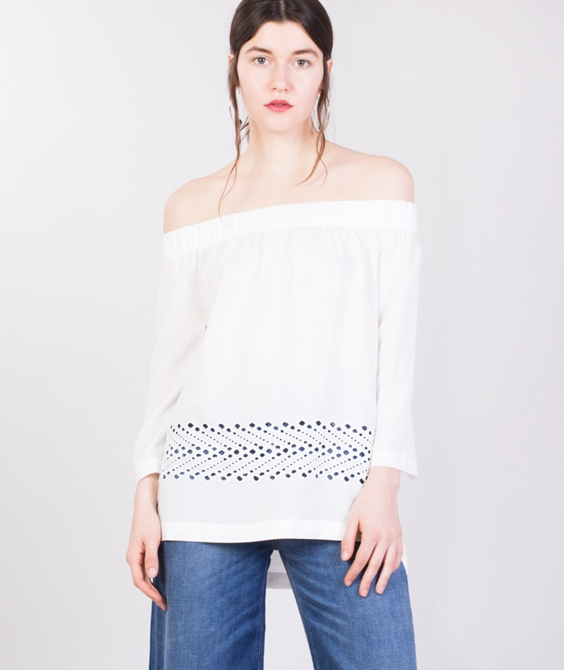 SELECTED FEMME SFCharline Bluse white