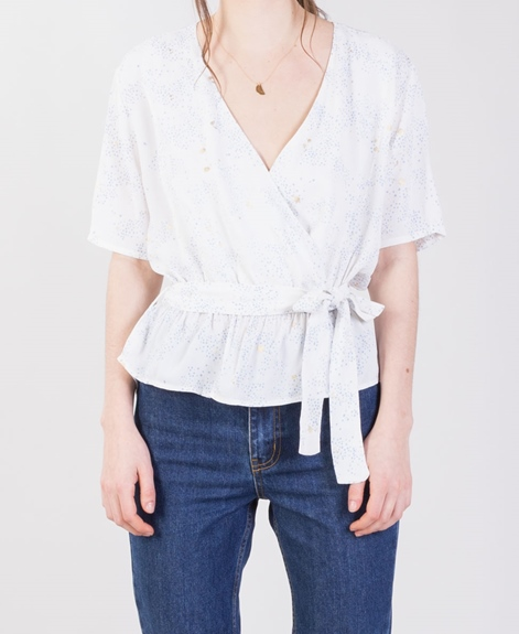 M BY M NORD Sorbella Bluse stardust