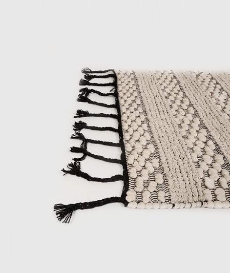 MADAM STOLTZ Teppich pompom/ Fringes 150x70