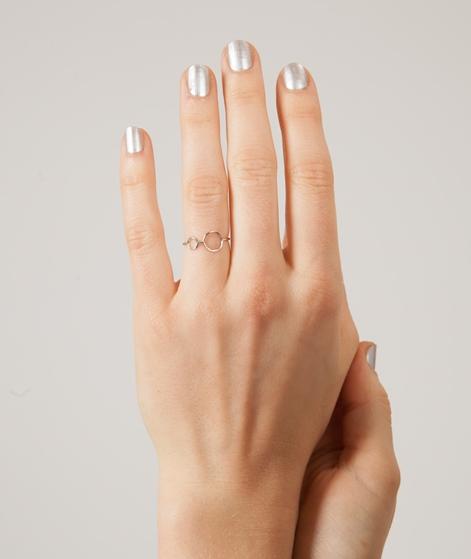 LOUISE KRAGH Hangaround Ring silber