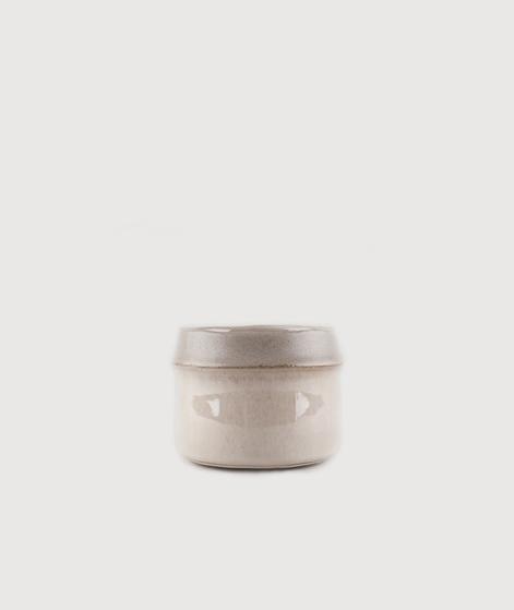 MADAM STOLTZ Flowerpot matt beige