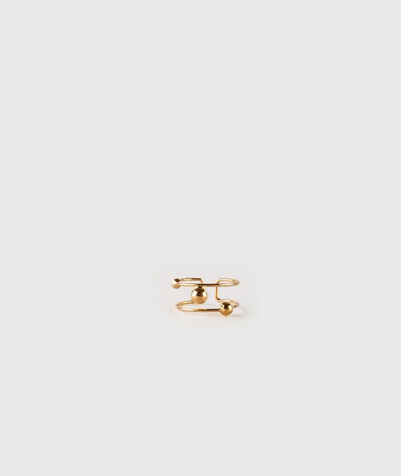 LOUISE KRAGH Sphere Ring gold