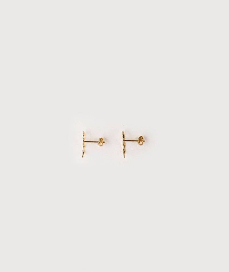 LOUISE KRAGH Hangaround Ohrringe gold