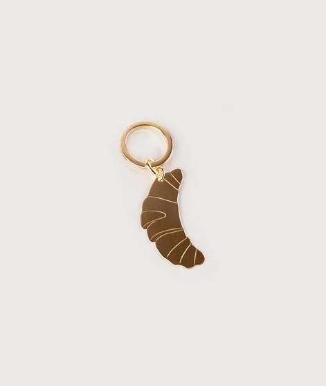 JUKSEREI Croissant Key Ring gold