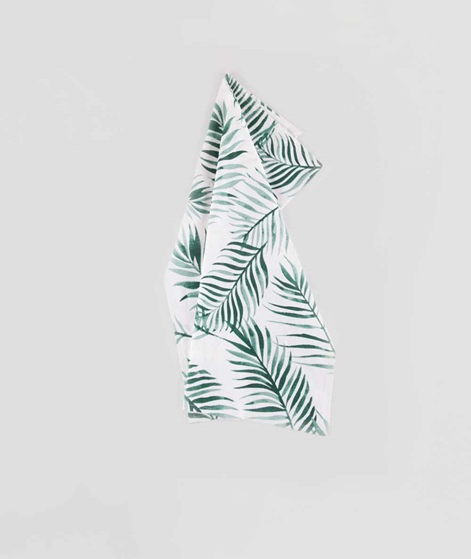BLOOMINGVILLE Jade Kitchen Towel print