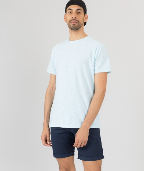 REVOLUTION Striped T-Shirt light blue