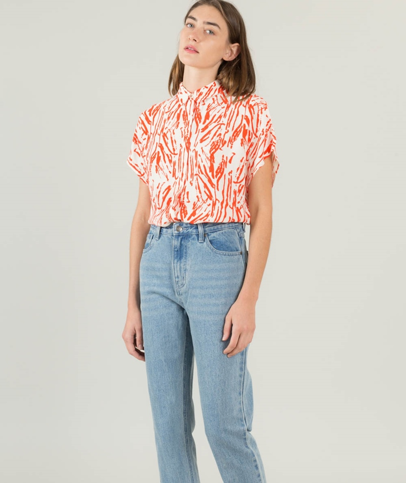 SELECTED FEMME SFLauren Hollie S/S Bluse