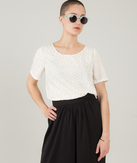 VILA Vidots S/S Bluse cloud dancer