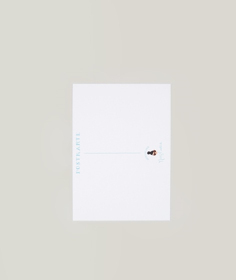 NELLY CASTRO Gute Besserung Postkarte