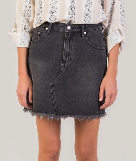 MINKPINK Sidewalk Cut Off Rock black