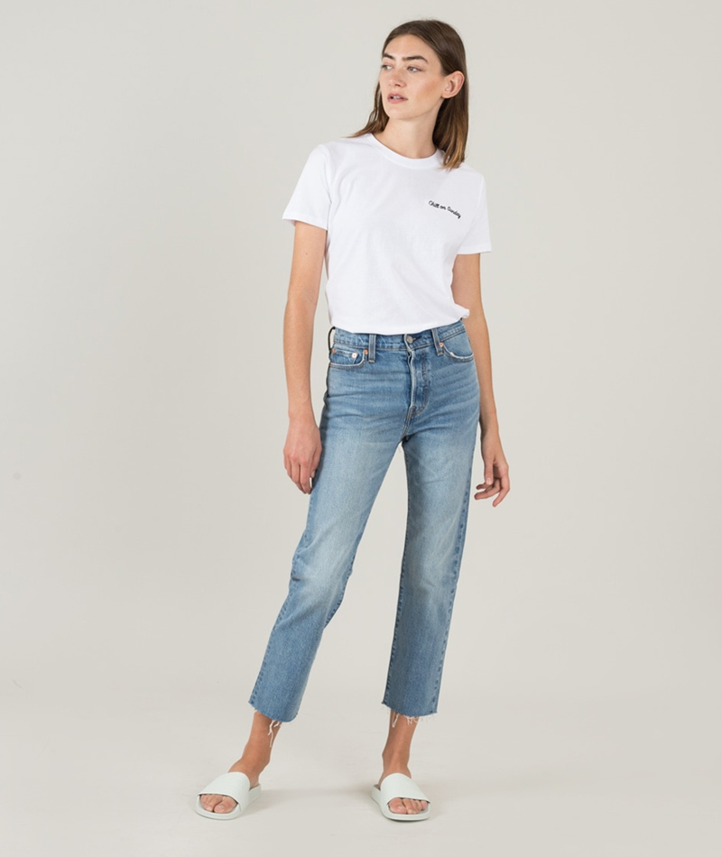 LEVIS Wedgie Straight Jeans rough tide