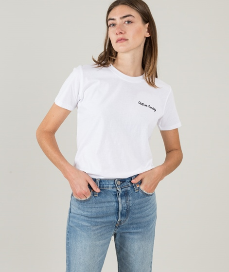 POP CPH Chill On Sunday T-Shirt white