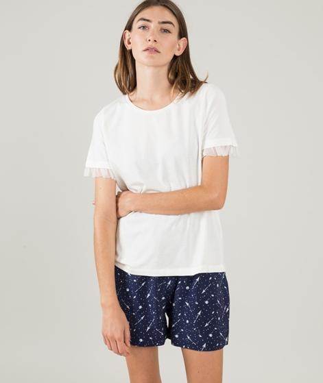 VILA Vidreamers Mesh T-Shirt cloud